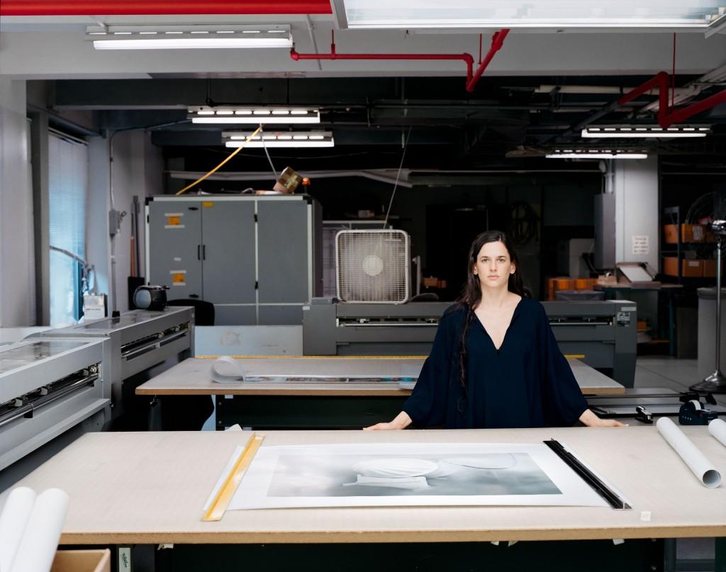 Portrait von Taryn Simon, New York, 2007