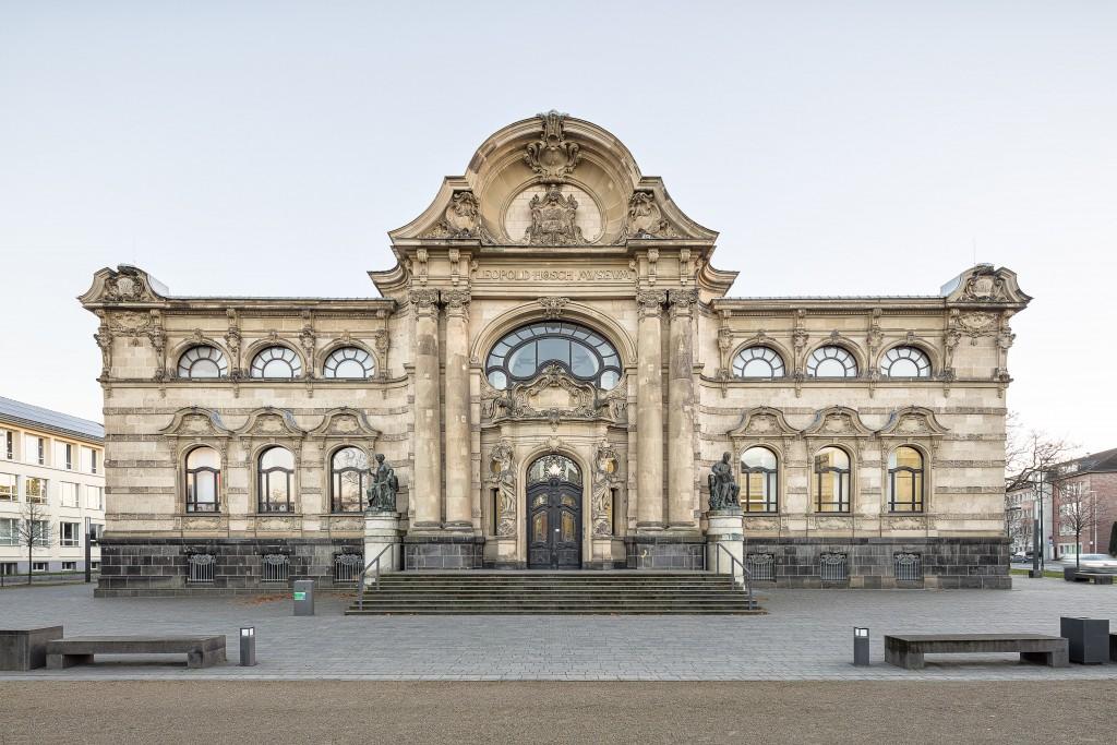 Fassade des Museums