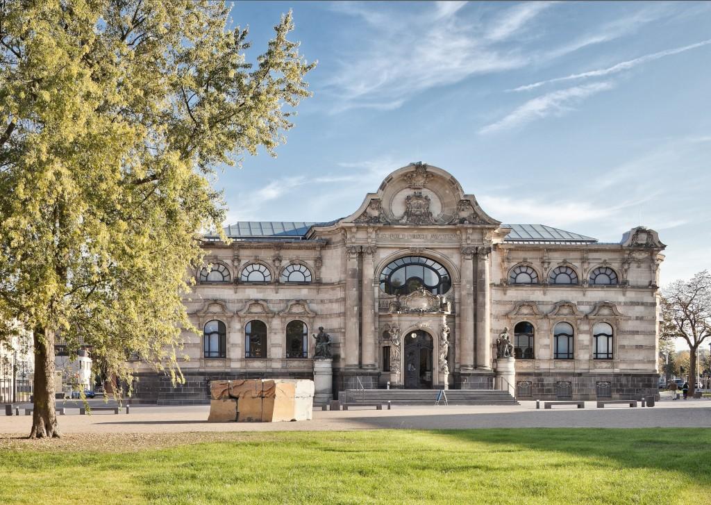 Museumsansicht frontal