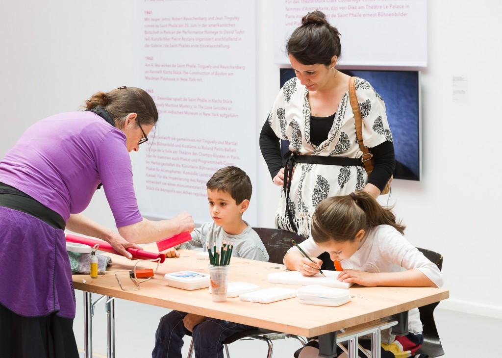 Kinder beim Workshop