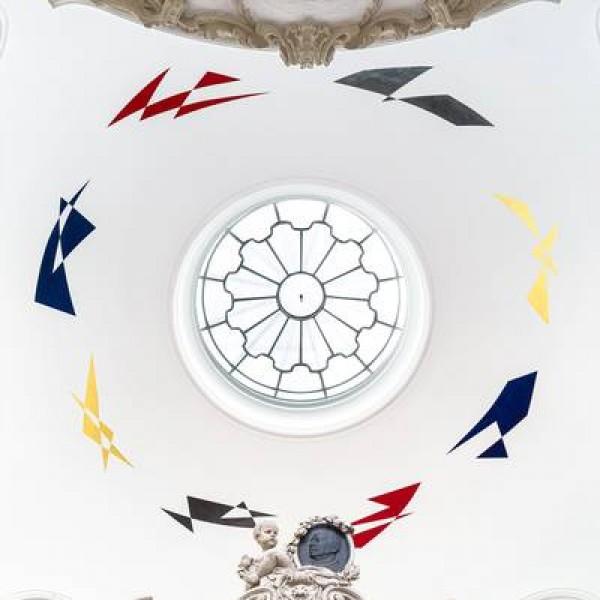 Deckengemälde in der Kuppel