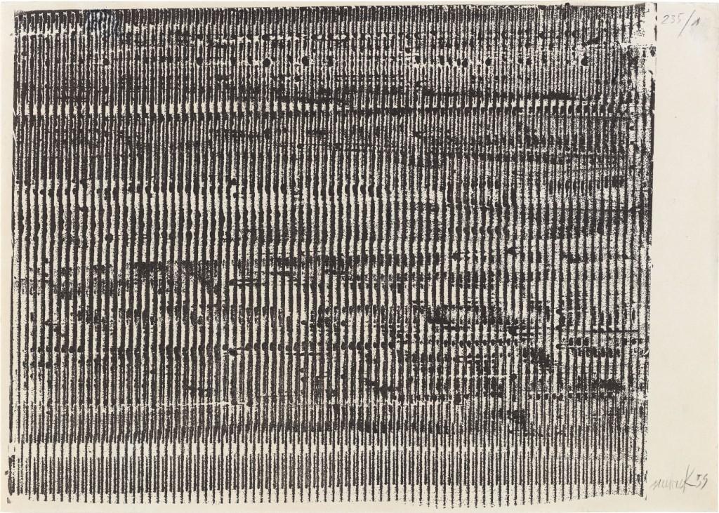 vertikale Streifen in schwarz-weiß