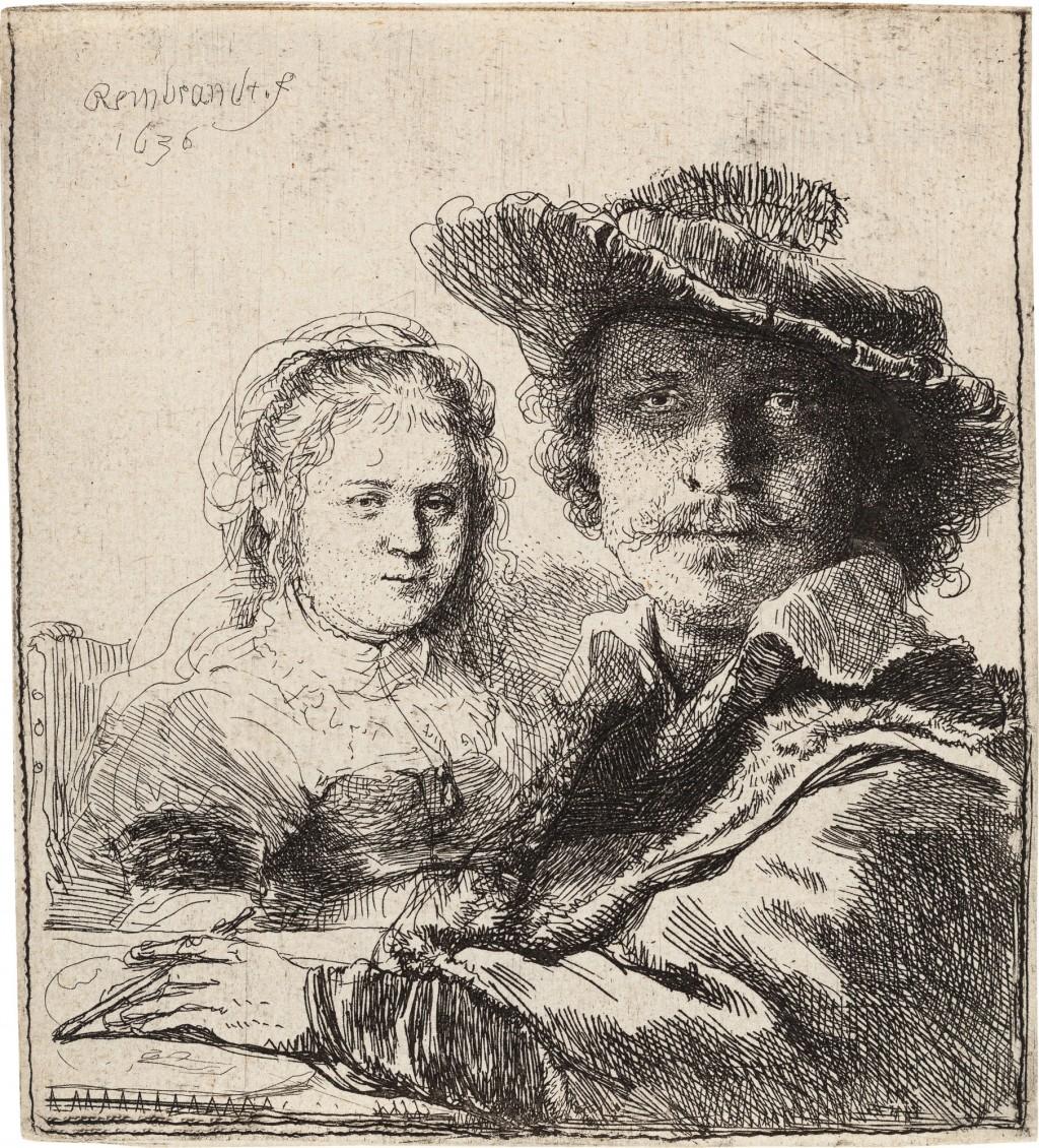 Mann und Frau sitzend am Tisch