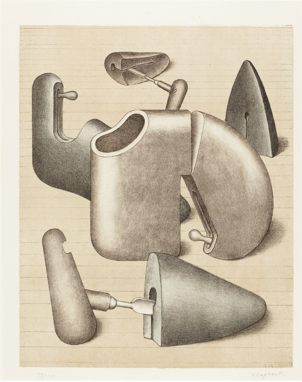 Schuhspanner (der Harem), 1968